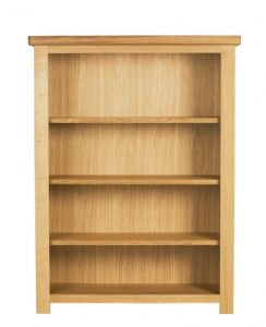 Charltons Bretagne Solid Oak Bookcase